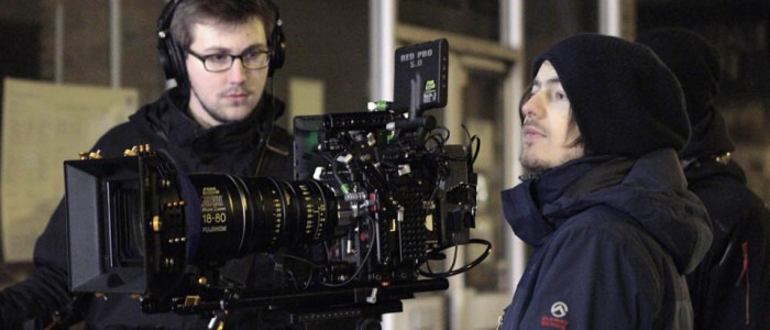 DOP - Phil Moreton & Sound Recordist - Sam Master