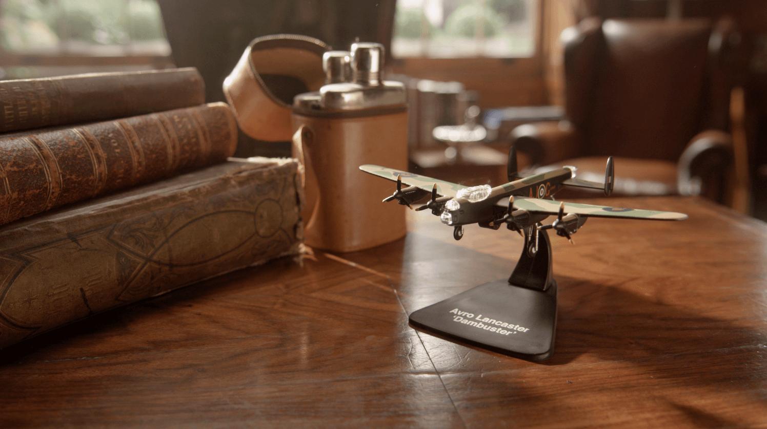 Atlas Lancaster Bomber advert